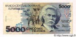 5000 Cruzeiros BRÉSIL  1992 P.232a TTB