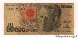 50000 Cruzeiros BRÉSIL  1991 P.234a TB