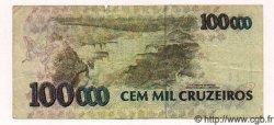 100000 Cruzeiros BRÉSIL  1992 P.235a TB à TTB