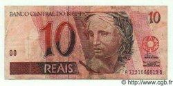 10 Reais BRÉSIL  1994 P.245a TTB
