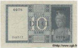 10 Lires ITALIE  1935 P.025a SUP
