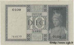 10 Lires ITALIE  1935 P.025a SPL