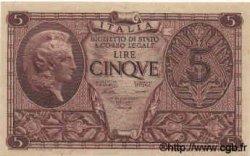 5 Lire ITALIE  1944 P.031a SPL