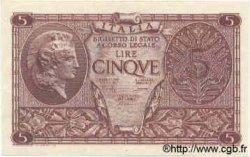 5 Lires ITALIE  1944 P.031c NEUF