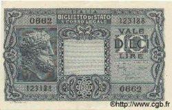 10 Lires ITALIE  1944 P.032c pr.NEUF