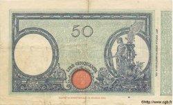 50 Lire ITALIE  1935 P.047c TTB
