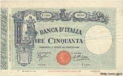 50 Lire ITALIE  1932 P.047c TTB