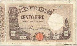 100 Lires ITALIE  1927 P.048a TB
