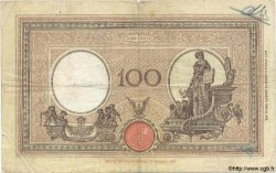100 Lires ITALIE  1929 P.050b B+