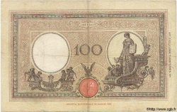 100 Lires ITALIE  1929 P.050b TB+
