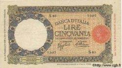 50 Lires ITALIE  1936 P.054a TTB