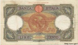 100 Lires ITALIE  1933 P.055a TB+
