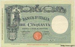 50 Lires ITALIE  1943 P.064 TTB+
