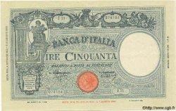 50 Lire ITALIE  1943 P.065 TTB+ à SUP