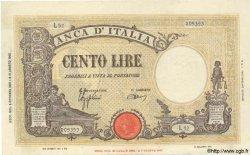 100 Lires ITALIE  1943 P.067a pr.SUP
