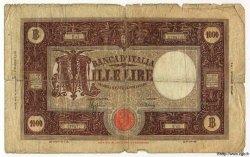 1000 Lire ITALIE  1944 P.072a AB