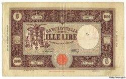 1000 Lires ITALIE  1947 P.072c TB à TTB