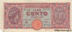 100 Lires ITALIE  1944 P.075 TB+ à TTB