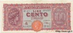 100 Lires ITALIE  1944 P.075 TTB+