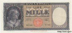 1000 Lires ITALIE  1947 P.083 TTB+ à SUP