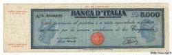 5000 Lires ITALIE  1947 P.086a TB à TTB