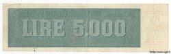 5000 Lires ITALIE  1948 P.086a TTB