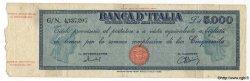 5000 Lire ITALIE  1949 P.086b B