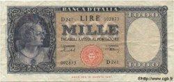 1000 Lires ITALIE  1949 P.088b TB