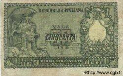 50 Lires ITALIE  1951 P.091a TB