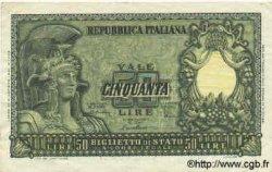 50 Lires ITALIE  1951 P.091b TTB+