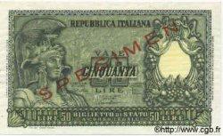 50 Lires ITALIE  1951 P.091bs SPL