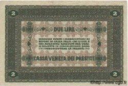 2 Lires ITALIE  1918 PM.05 SUP