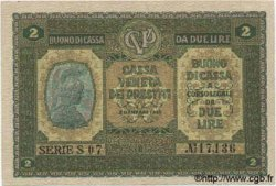 2 Lires ITALIE  1918 PM.05 SPL