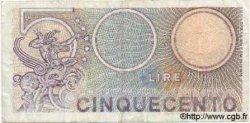 500 Lires ITALIE  1976 P.095 TTB