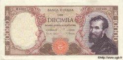 10000 Lires ITALIE  1968 P.097c TTB+ à SUP