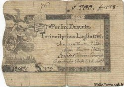 200 Lires ITALIE  1786 PS.123 TB