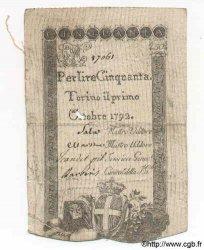 50 Lires ITALIE  1792 PS.117b TB
