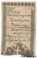 50 Lires ITALIE  1794 PS.117b TB