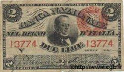 2 Lires ITALIE  1866 PS.211 TB