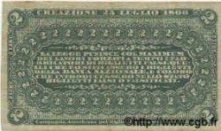 2 Lires ITALIE  1866 PS.211 TTB+