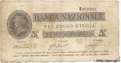 5 Lires ITALIE  1866 PS.214 TB+