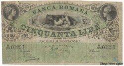 50 Lires ITALIE  1890 PS.276var TB