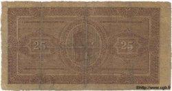 25 Lires ITALIE  1883 PS.281 B à TB