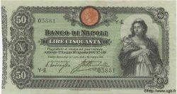 50 Lires ITALIE  1903 PS.391b TTB+ à SUP
