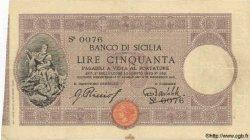 50 Lires ITALIE  1913 PS.452b TTB