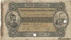 100 Lires ITALIE  1874 PS.473 B