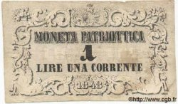 1 Lire ITALIE  1848 PS.516 TB