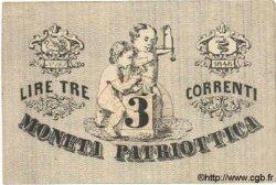 3 Lires ITALIE  1848 PS.518 SPL