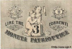 3 Lires ITALIE  1848 PS.518 TTB+