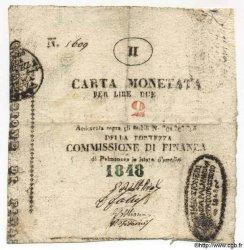 2 Lires ITALIE  1848 PS.570 TTB